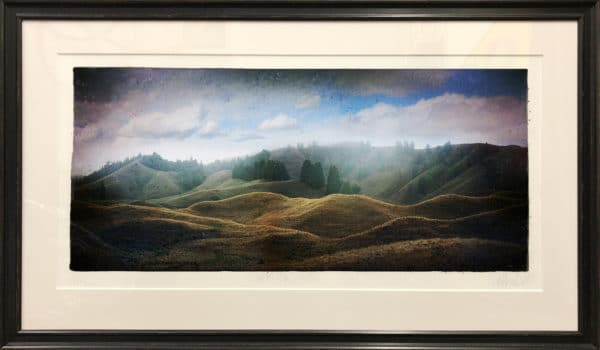 Framed print, Ridgeline King Country by Matt Palmer