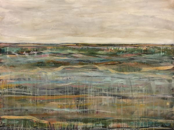 Contemporary landscape - Cross Section by Jody Hope Gibbons