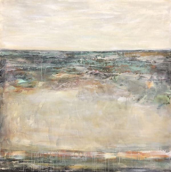Contemporary landscape - Transparent by Jody Hope Gibbons