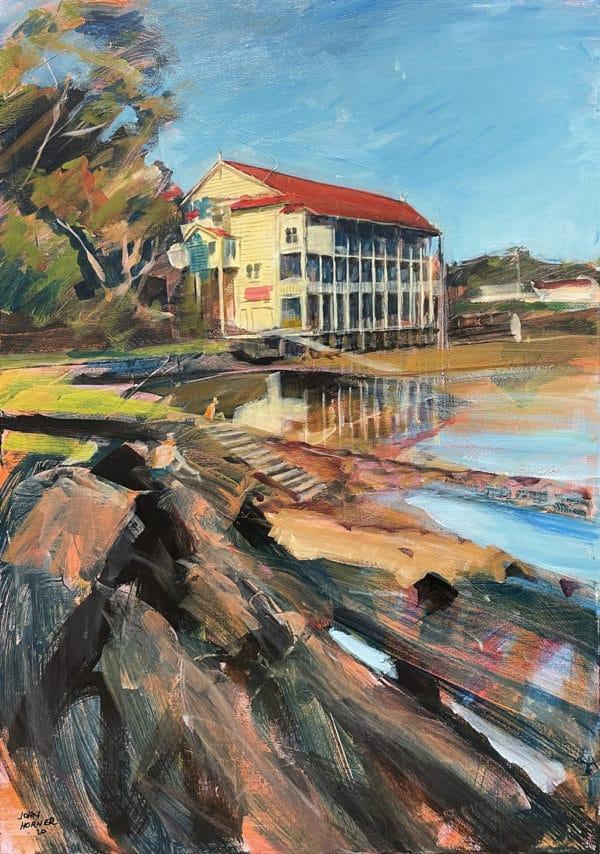 Landscape - Bayswater Boat Club by John Horner
