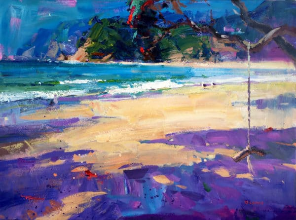 Landscape - Langs Beach Summer by Richard Robinson
