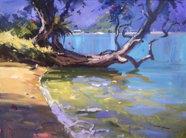 Landscape - Love Pataua by Richard Robinson