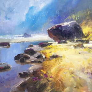 Landscape - Love Taupo Bay by Richard Robinson