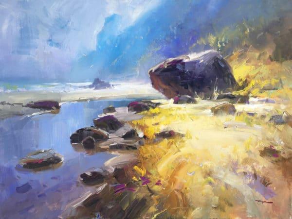 Landscape - Love Taupo Bay by Richard Robinson