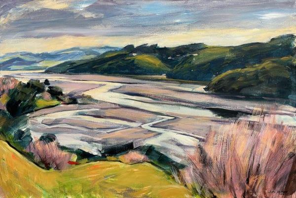 Landscape - Puhoi Estuary, Wenderholm by John Horner
