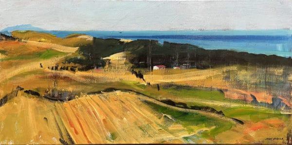 Landscape - Awhitu from Lighthouse by John Horner