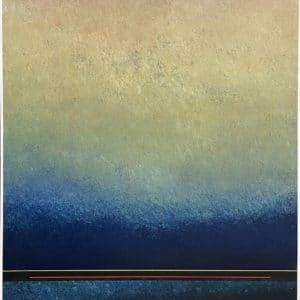Contemporary Landscape - Dawn by Richard Adams