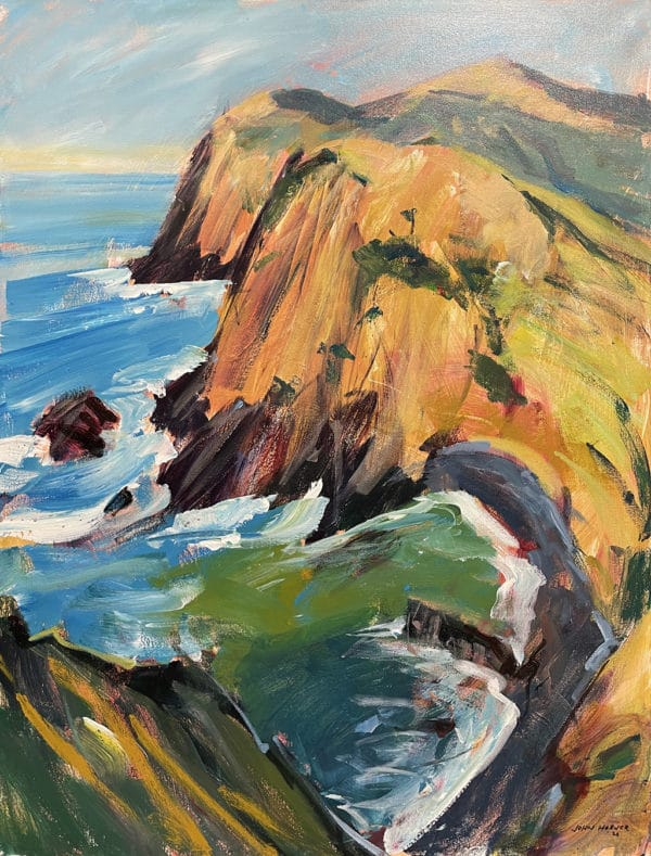 Landscape - View From the Hilary Walk, Port Jackson by John Horner