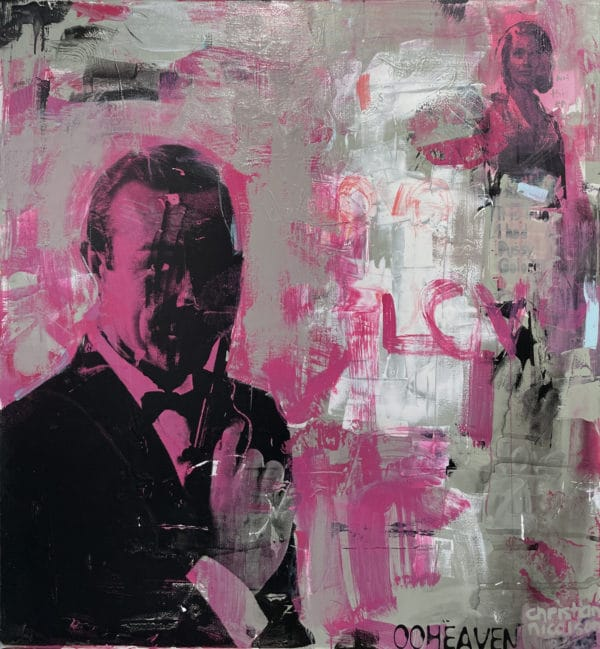 Pop art - Bond, by Christian Nicholson