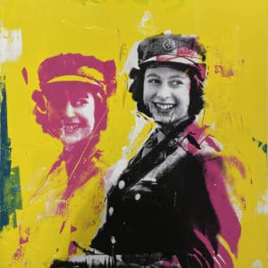Pop art - Queeny, by Christian Nicholson