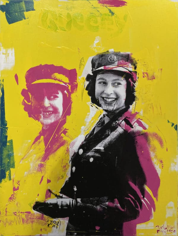 Pop art - Queeny, by Christian Nicholson
