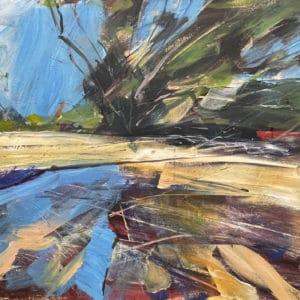 Landscape - Awhitu - Near Clarks Beach by John Horner