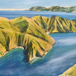 Landscape - French Pass, Marlborough Sounds by John Horner