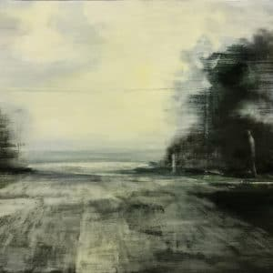 Contemporary Landscape - Intersection 2001 by Elizabeth Rees