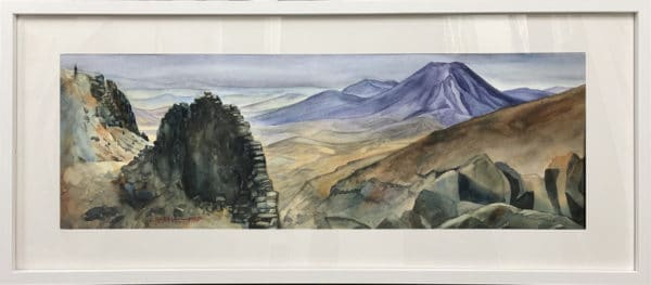 Landscape - Meads Wall Panorama by Charlotte Hird