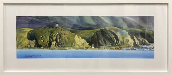 Landscape - Pencarrow Panorama by Charlotte Hird
