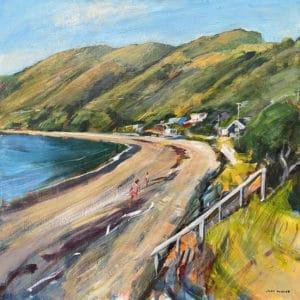 Landscape - Pukerua Bay by John Horner