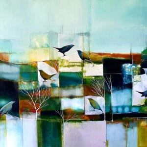 Landscape - Changing Seasons by Julie Whyman