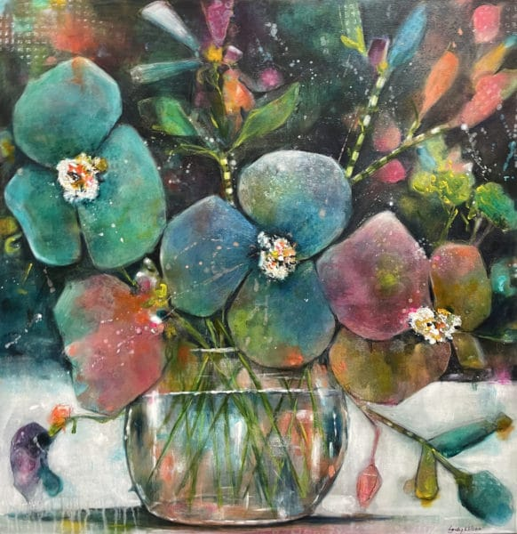 Botanical painting - Life Is But A Dream by Lyndy Wilson