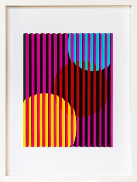 Geometric 3D print - Alpha 1 by Mark Cowden