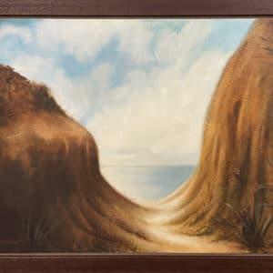 Landscape - Canoe Portage, East Bay by Sally Simons