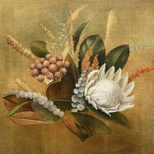 Botanical painting - Peace by Sally Simons