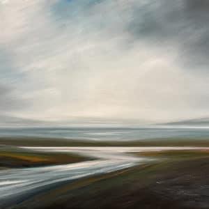 Landscape - The Hidden Beach by Tut Blumental