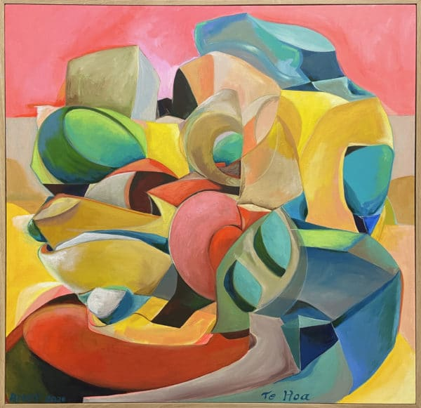 Abstract art - Te Hoa by Andrew Turner