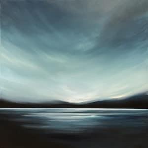 Landscape - Blue Horizon by Tut Blumental