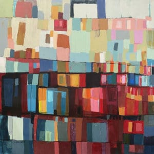 Abstract - Marcela Dumay by Constanza Briceno
