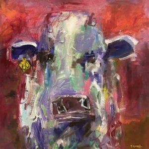 Farm animals - No. 60 by Pauline Gough