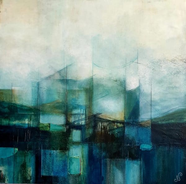 Nature painting - Interference by Julie Whyman